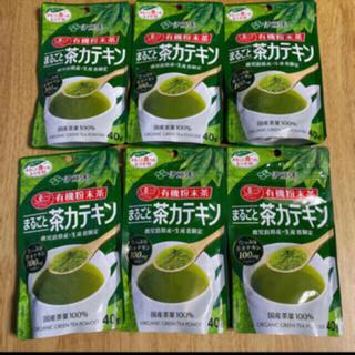 伊藤園 - 伊藤園 有機粉末茶 国産茶葉100%使用 まるごと茶カテキン 6袋