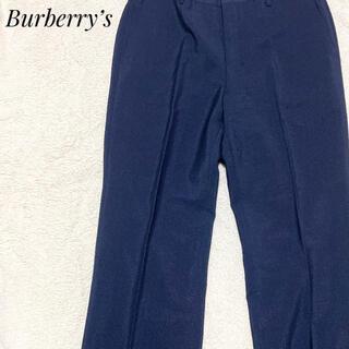 バーバリー(BURBERRY)のBurberry's バーバリーズ スラックスパンツ ネイビー(スラックス)