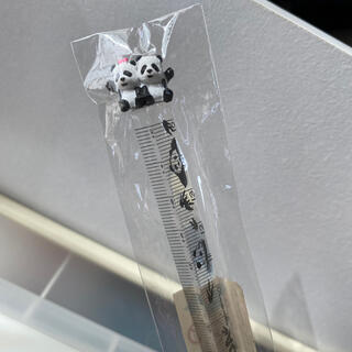 ムジルシリョウヒン(MUJI (無印良品))のパンダ定規 15cm(その他)