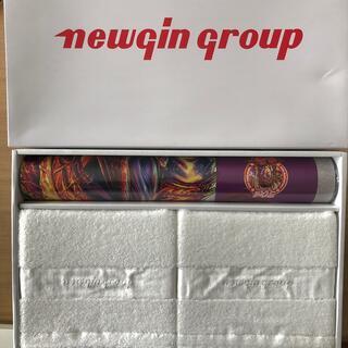 ニューギン(newgin)の♪レア出品♪花の慶次カレンダー+高級タオルセット(パチンコ/パチスロ)