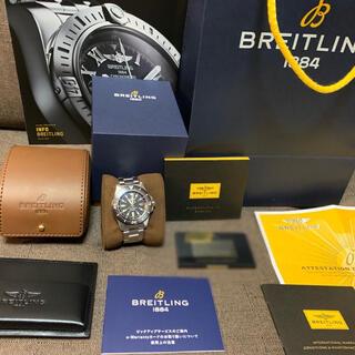 ブライトリング(BREITLING)のブライトリング BLEITLING スーパーオーシャン 自動巻 腕時計 美品(腕時計(アナログ))