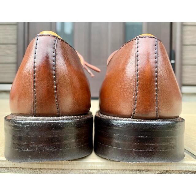 J.M. WESTON(ジェーエムウエストン)のJ.M.Weston696ジェイエムウエストンデミシャッセ タンブラウン8.5E メンズの靴/シューズ(ドレス/ビジネス)の商品写真