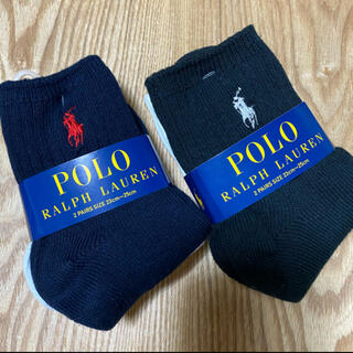POLO RALPH LAUREN - 4足‼️ 新品 タグ付 ポロラルフローレン 紺 1 / 黒 1 / 白×2種