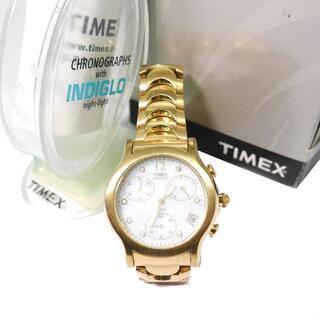 タイメックス(TIMEX)の♀☆TIMEX タイメックス 腕時計 ゴールド シェル MOP マザーオブパール(腕時計)