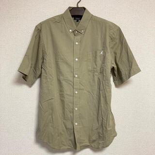 カンゴール(KANGOL)のZIP FIVE KANGOL ワンポイント刺繍 半袖ブロードシャツ(シャツ)