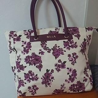 ミーア(MIIA)の花柄 トートバッグ(トートバッグ)