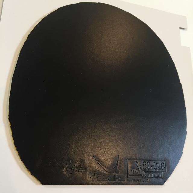 Yasaka(ヤサカ)の卓球ラバー、ライガンスピン中厚、黒 スポーツ/アウトドアのスポーツ/アウトドア その他(卓球)の商品写真