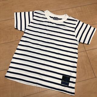 ラゲッドワークス(RUGGEDWORKS)のrugged works 半袖Tシャツ ボーダー  130(Tシャツ/カットソー)