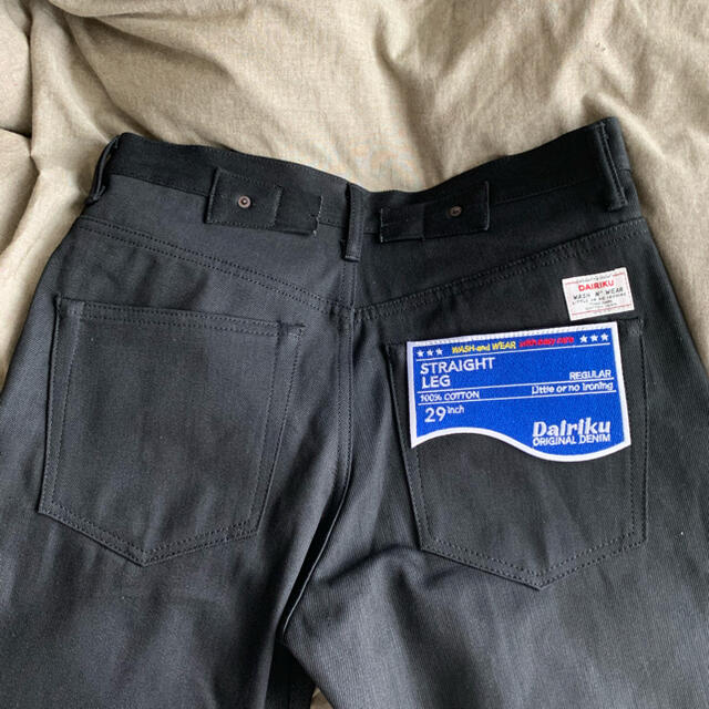 kolor(カラー)のBlack Denim Pants  DAIRIKU 29 メンズのパンツ(デニム/ジーンズ)の商品写真
