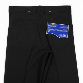 "kolor - DAIRIKU ""Straight"" Pants Black29"