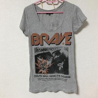 オゾック(OZOC)のオゾック  tシャツ  グレー(Tシャツ/カットソー(半袖/袖なし))