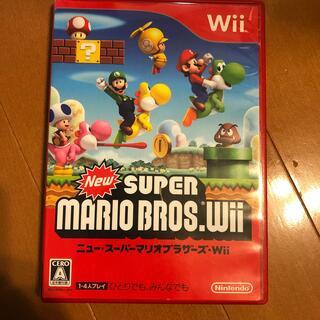ニンテンドウ(任天堂)のNew スーパーマリオブラザーズ Wii Wii(その他)