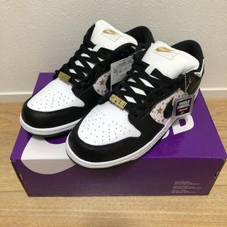 シュプリーム(Supreme)の正規品 Supreme Nike SB Dunk Low BLACK 28(スニーカー)