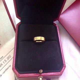 カルティエ(Cartier)のCartier♡ミニラブリング(リング(指輪))