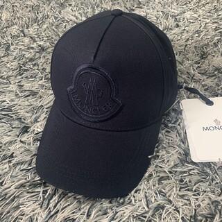 MONCLER - モンクレール ロゴ ベースボール キャップ ネイビー