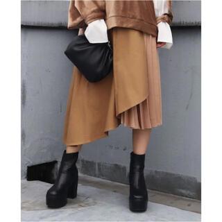 エモダ(EMODA)のEMODA ドッキングフレアスカート Sサイズ(ひざ丈スカート)