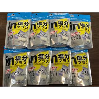 モリナガセイカ(森永製菓)のinタブレット塩分プラス 80g×8袋(その他)