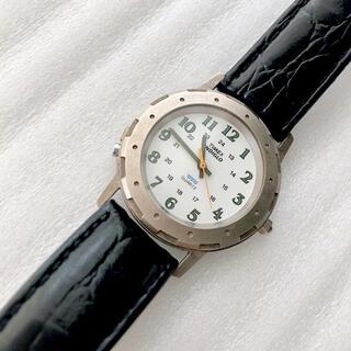 タイメックス(TIMEX)のTIMEX  タイメックスINDIGLO メンズクォーツ腕時計 稼動品(腕時計(アナログ))