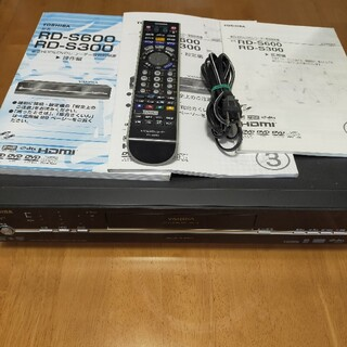 東芝HDD&DVDレコーダー VARDIA RD-S600