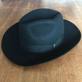 ボルサリーノ(Borsalino)の未使用 ボルサリーノ Borsalino 中折れ帽子ハットラビットファー(ハット)