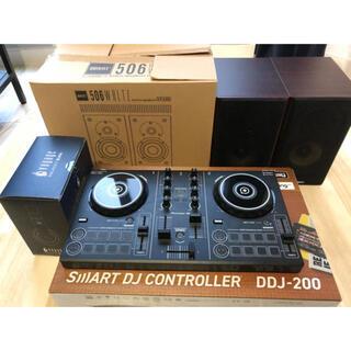 パイオニア(Pioneer)のパイオニア DDJ-200 QUINTETスピーカー&ヘッドホンセット(DJコントローラー)