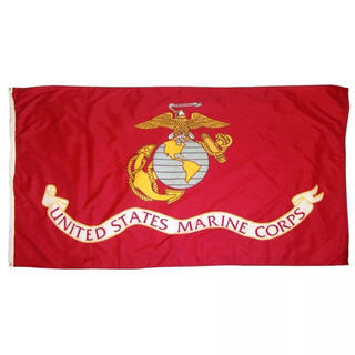 壁掛け タペストリー 90×150cm USA アメリカ 海兵隊 マリーン(その他)