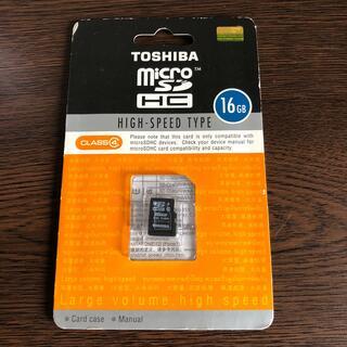 トウシバ(東芝)のMicroSDカード(16GB)(その他)