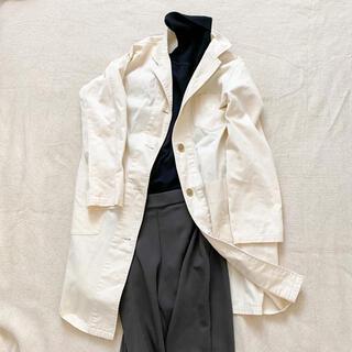 サマンサモスモス(SM2)のスプリングコート 綿コート エクリュ 白 SM2(スプリングコート)