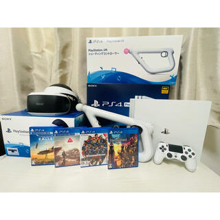 PlayStation VR - PlayStation4 Pro1TB +VR カメラ同梱版+シューコン+ソフト