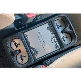 三菱 - 新モデル デリカ D:5 テーブル & ドリンク マット セット アルミ