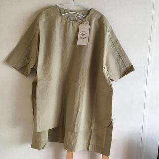 pual ce cin - ピュアルセシン MADE IN JAPAN チュニックシャツ 新品未使用
