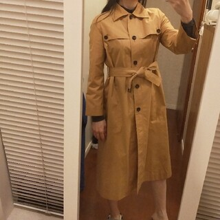 BURBERRY - 高級ツバメコート製作*スイス生地 薄手コート