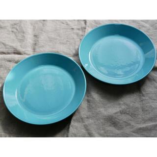 イッタラ(iittala)のイッタラティーマ 17センチ ターコイズブルー 2枚(食器)
