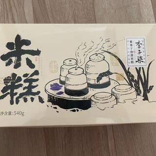 李子柒 紫薯于你蒸米糕 夹心甜点 紫米糕 540g/盒(菓子/デザート)