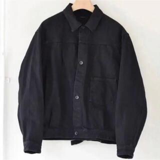 COMOLI - コモリ comoli デニムジャケット 1 ブラック 20aw
