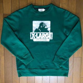 XLARGE - XLARGE エクストララージ スウェット グリーン 緑