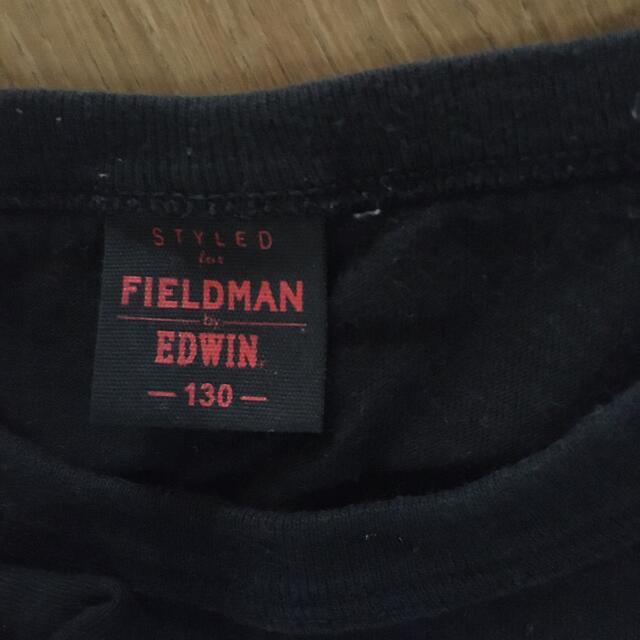 EDWIN(エドウィン)のキッズ【EDWIN】長袖Tシャツ 130 キッズ/ベビー/マタニティのキッズ服男の子用(90cm~)(Tシャツ/カットソー)の商品写真