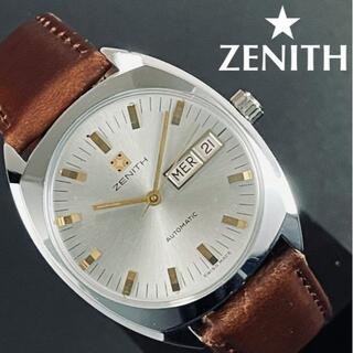 ゼニス(ZENITH)の即購入OK◆ハイスペックキャリバー搭載ゼニス★ZENITH自動巻きアンティーク(腕時計(アナログ))