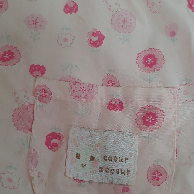 coeur a coeur(クーラクール)のクーラクール ウィンドブレーカー100サイズ キッズ/ベビー/マタニティのキッズ服女の子用(90cm~)(ジャケット/上着)の商品写真