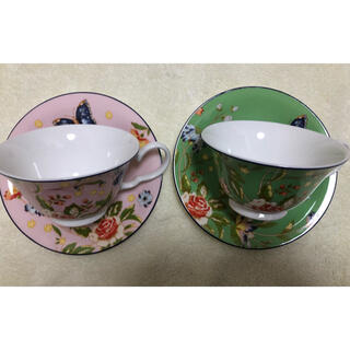 エインズレイ(Aynsley China)のエインズレイ カップ&ソーサー2セット(食器)