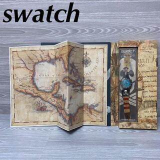 アイスウォッチ(ice watch)のswatch SWISS MADE スウォッチ pirate 海賊(腕時計)