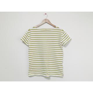 ムジルシリョウヒン(MUJI (無印良品))の無印 ボーダー トップス(Tシャツ(半袖/袖なし))
