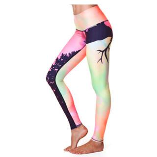 Teeki Yoga northern light ポップカラーグラフィック m(ヨガ)