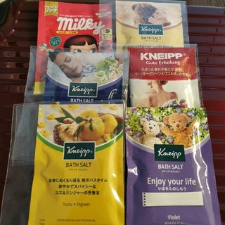 Kneipp - クナイプバスソルト&ペコちゃん入浴剤(1)