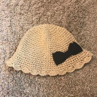 petit main - プティマイン 帽子 麦わら帽子