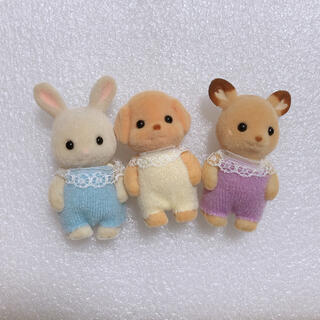 エポック(EPOCH)のシルバニアファミリー 赤ちゃんセット 人形 ベイビー(ぬいぐるみ/人形)