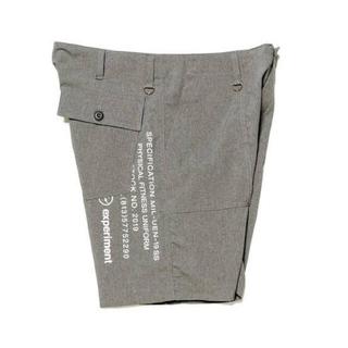 ユニフォームエクスペリメント(uniform experiment)のuniform experiment ハーフパンツ 1 グレー fragment(ショートパンツ)