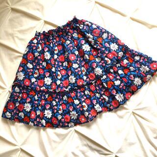 ケイトスペードニューヨーク(kate spade new york)のkate♠️spade【ケイトスペード】レトロ調の花柄が可愛いふんわりスカート(スカート)
