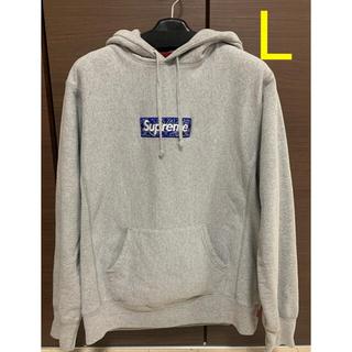 シュプリーム(Supreme)の美品 Supreme Bandana Box Logo Hooded L(パーカー)