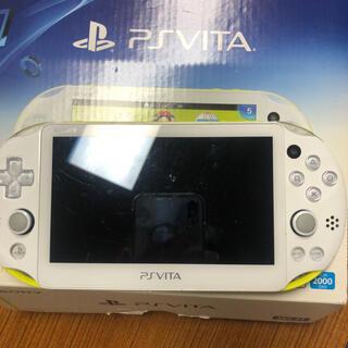 プレイステーションヴィータ(PlayStation Vita)のPSVITA pch-2000 本体(携帯用ゲーム機本体)
